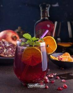 coctel brandy y granada2